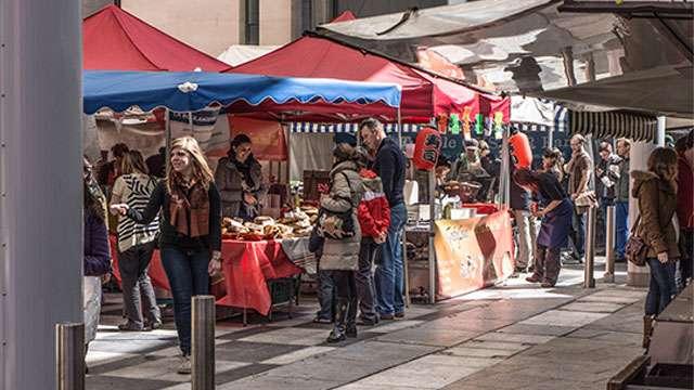 Browse through the Dublin Flea Market