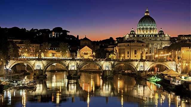 The Bridge of Saint Angelo (Ponte Sant'Angelo)