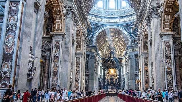 The Vatican (Vaticano) - St Peter's Basilica
