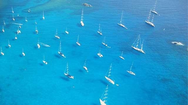 St Barts yachts