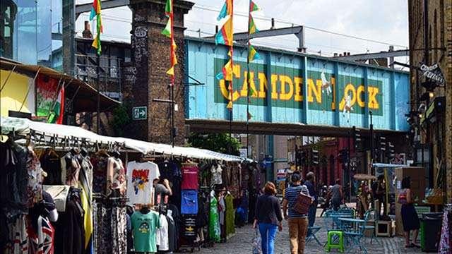Shopping in Camden Market