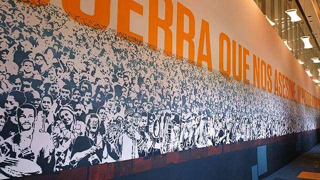 Casa de la Memoria mural