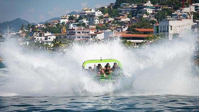 Tsunami Jet Boat adventure