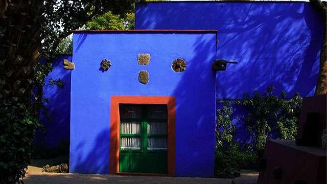 La Casa Azul (Frida Kahlo's childhood home)