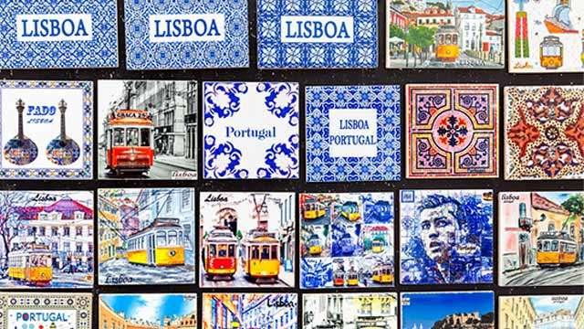 Souvenirs Lisbon