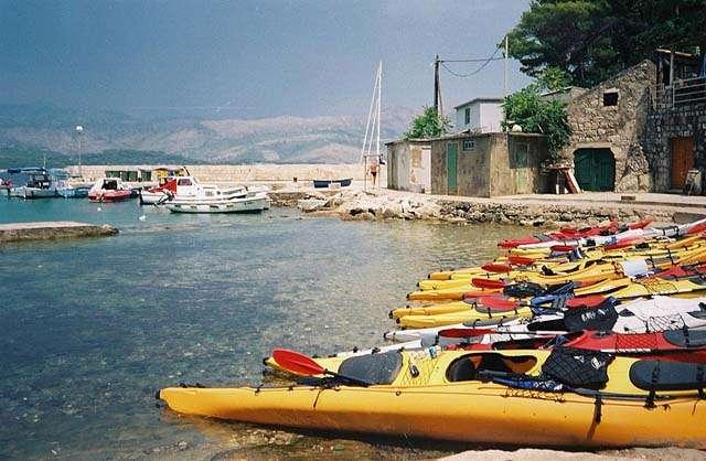 kayak dubrovnik croatia