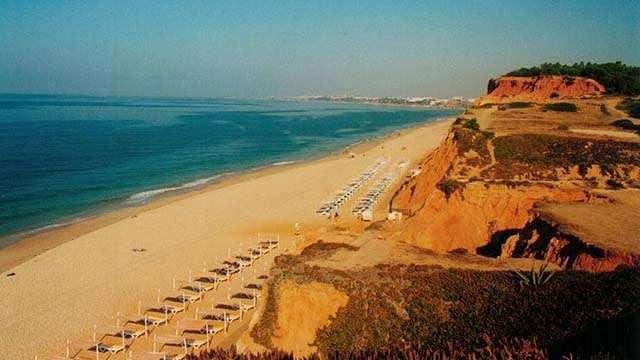 Praia da Falesia albufeira portuga;