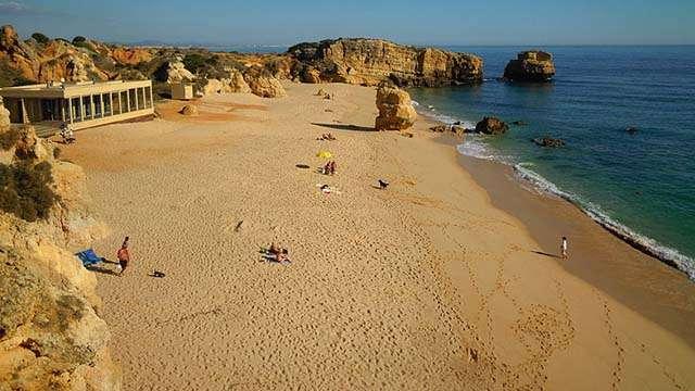 Praia de São Rafael albufeira portugal