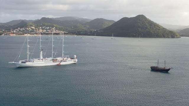 boat trip st lucia