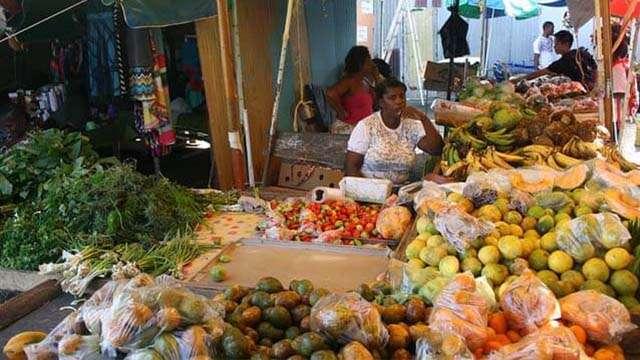 castries market saint lucia