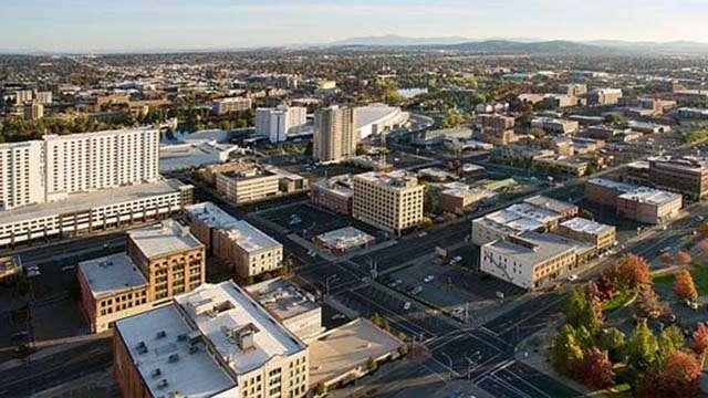 downtown spokane washington