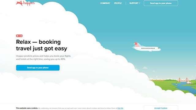 hopper website