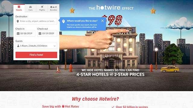 hotwire website