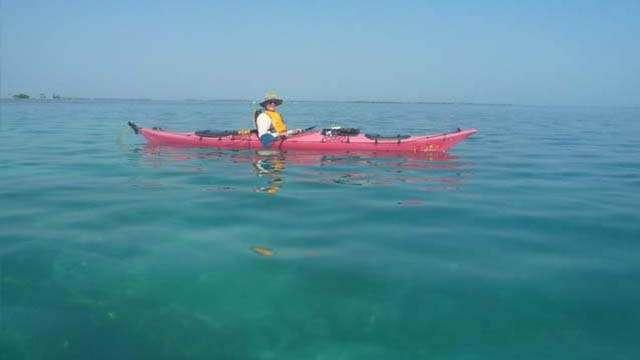 kayaking belize