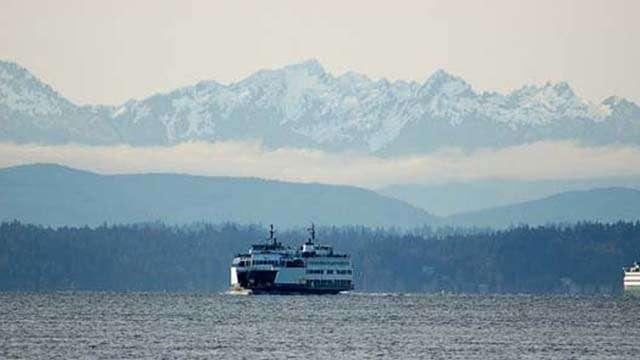 puget sound ferry seattle