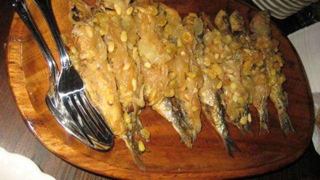 sardine in saor venice