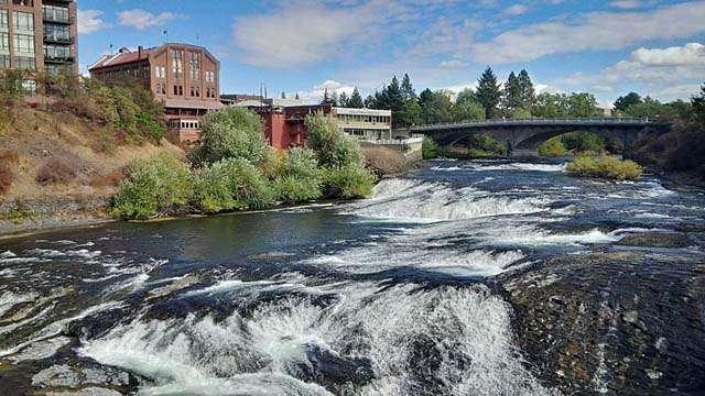 spokane falls washington