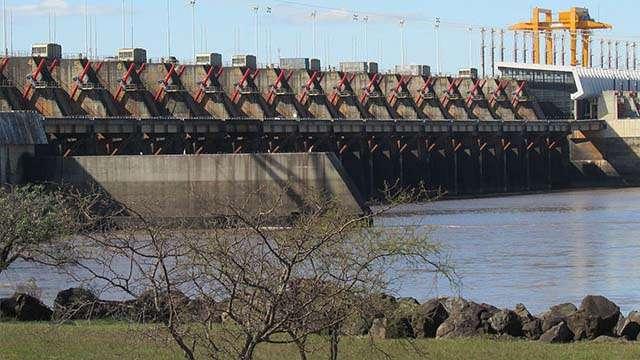 Hydroelectric Dam of Salto Grande