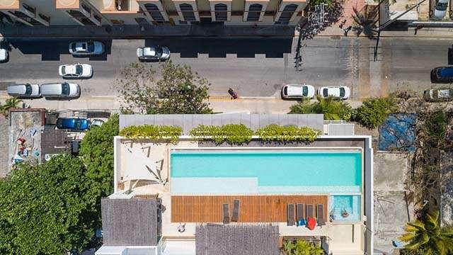 rooftop pool playa del carmen
