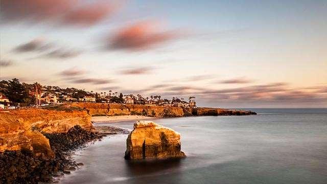 San Diego sunset cliffs