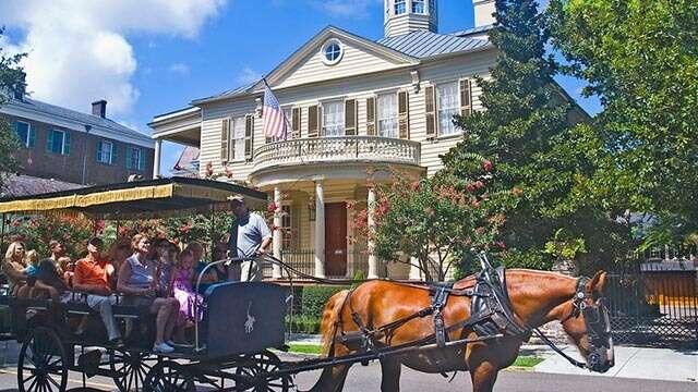 horse carriage charleston
