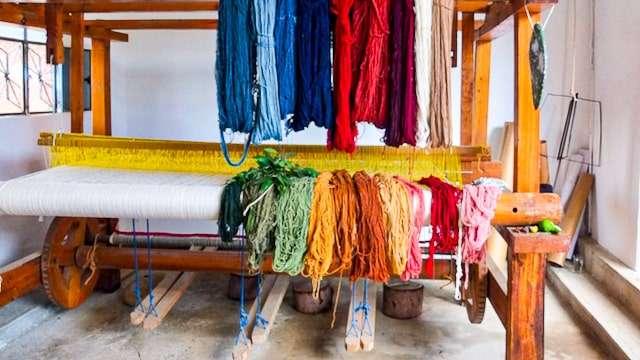 Teotitlan de Valle Weaving Loom