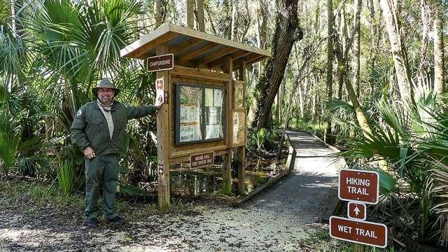 Rene Acuna at Hontoon Island State Park, Florida