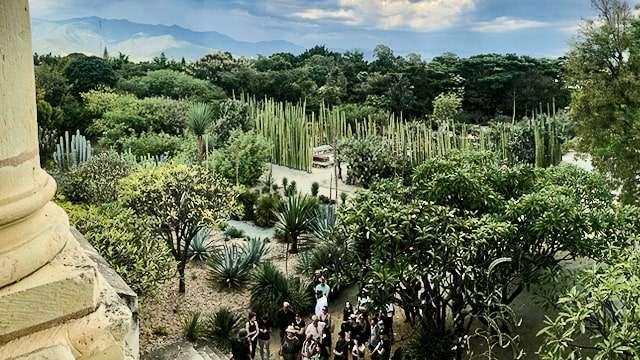 Ethnobotanical Garden, Oaxaca, Mexico