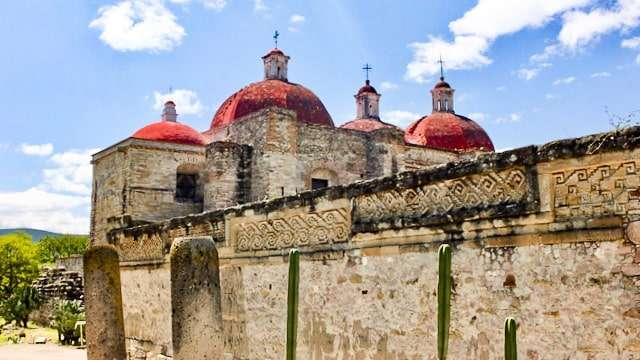 Mitla Archeological Site, Oaxaca, Mexico