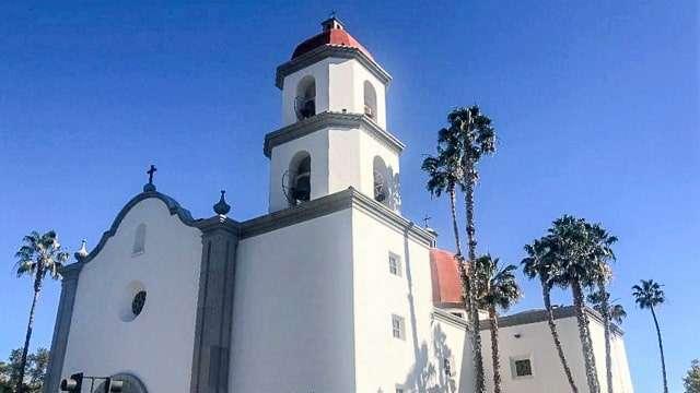 New Basilica in San Juan Capistrano, CA