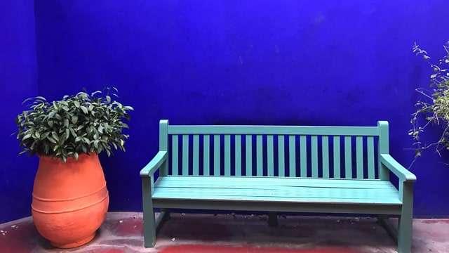 Majorell Blue - Garden Wall