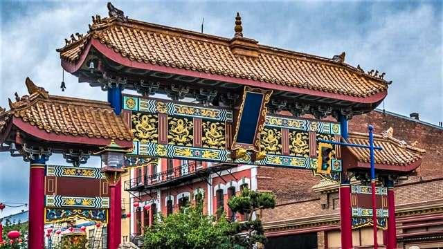 Victoria Chinatown Gate