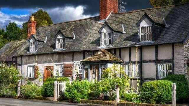 Bishops Castle, Shropshire, England