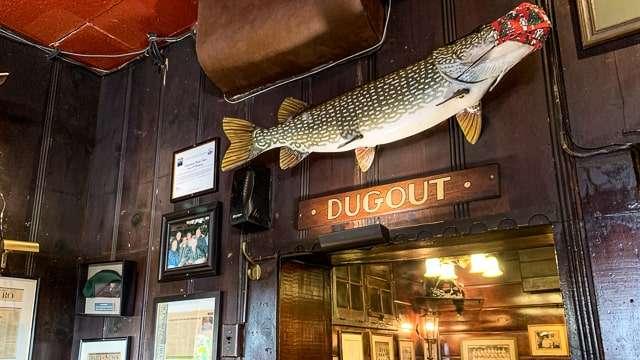 Martin's Tavern Dugout - Georgetown DC