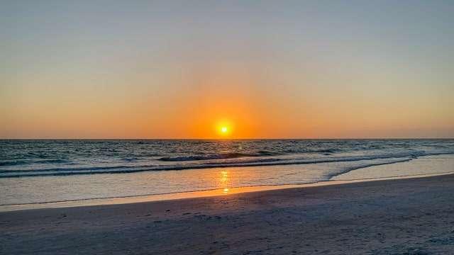 Lido Beach Sunset, Sarasota