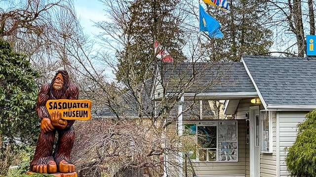 Sasquatch Museum - Harrison Hot Springs Canada