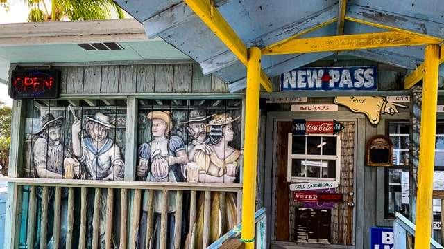 New Pass Bait & Fish Shack - Sarasota FL