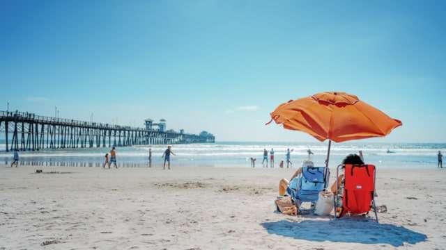 Oceanside Pier and Beach