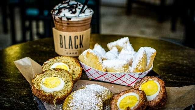 Black Café - Coffee & Scotch Eggs