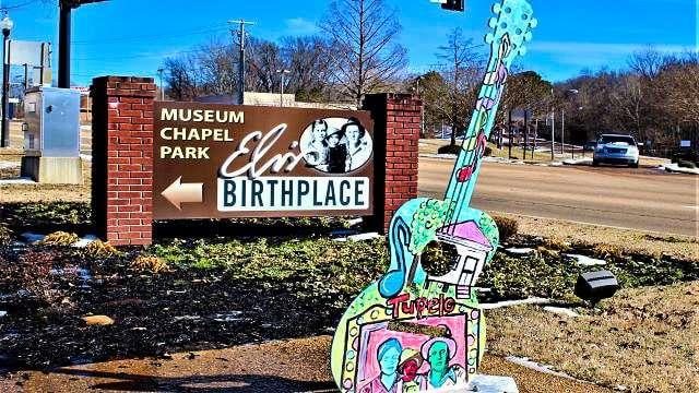 Elvis Birthplace - Tupelo MS