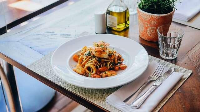 Amalfi Coast Pasta & Seafood