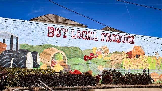 Buy Local Produce in Tupelo MS