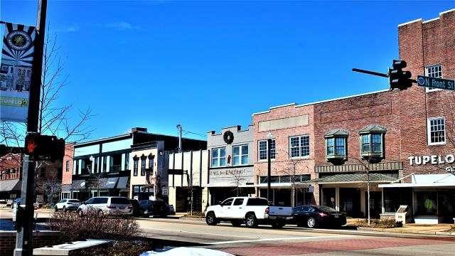 Downtown Tupelo MS