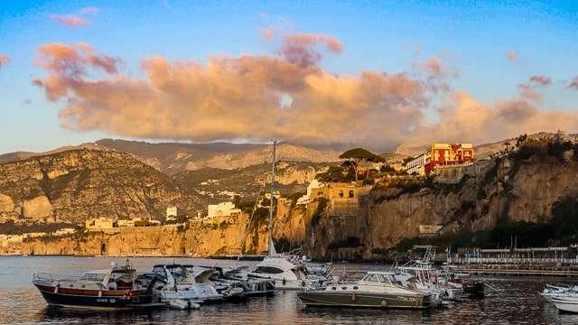 Amalfi Coast Boats