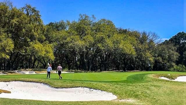Golfing on Hilton Head Island