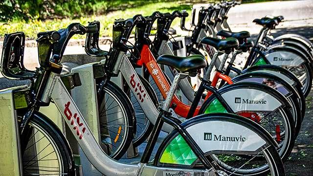 Manuvie Bike Share, Montreal