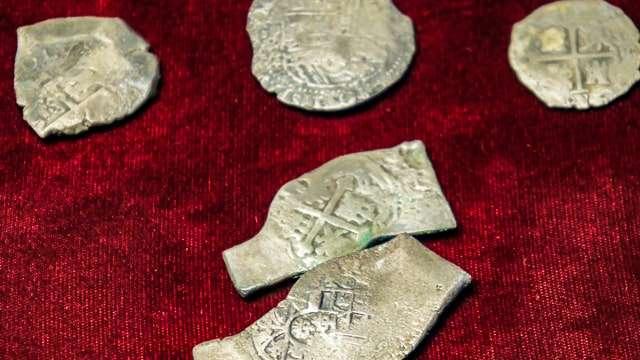 Silver coins found offshore -Fort Pierce, FL