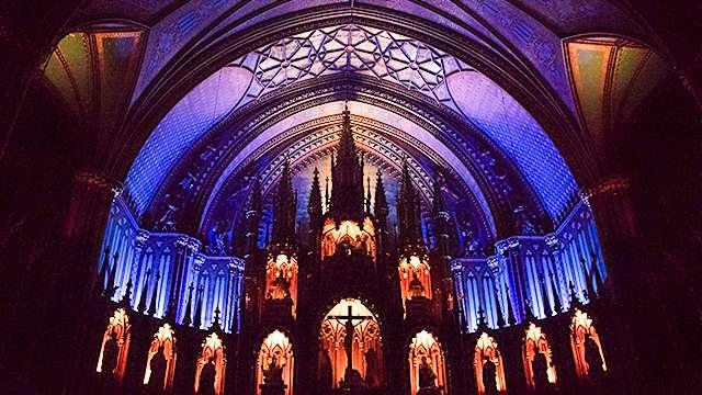 Interior Basilique Notre Dame