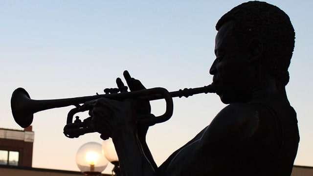 Miles Davis Statue - Alton IL