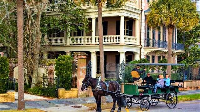 Historic Carriage Tour-Charleston